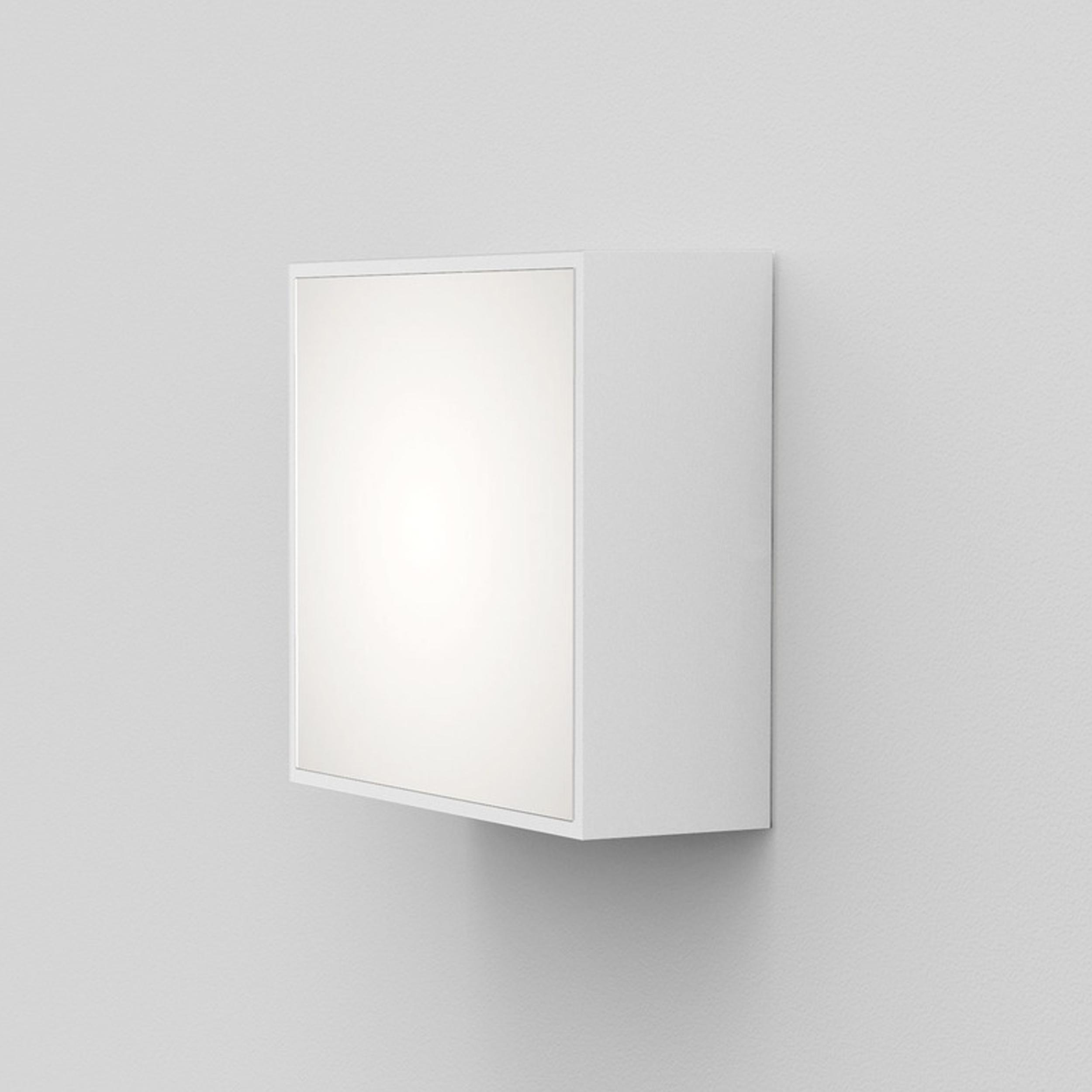 Astro Kea 140 Square Wall Light White E