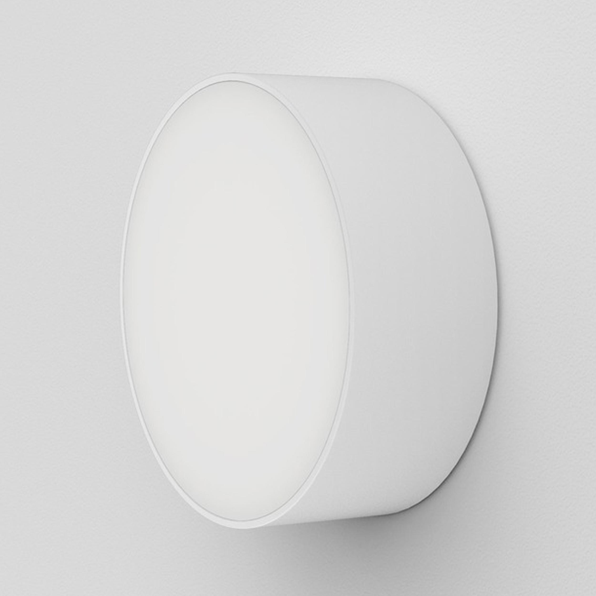 Astro Kea 250 Round Wall Light White E