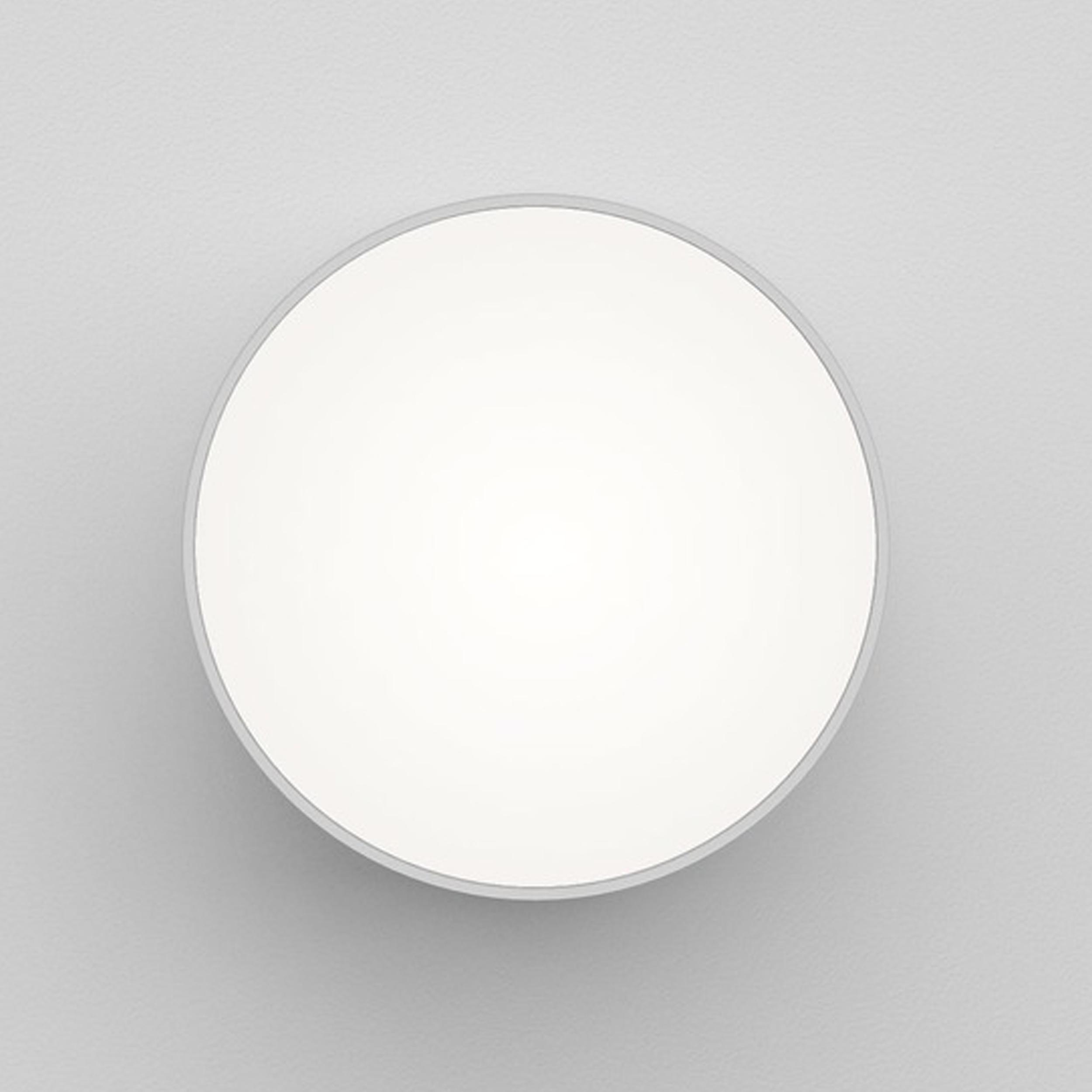 Astro Kea 250 Round Wall Light White D