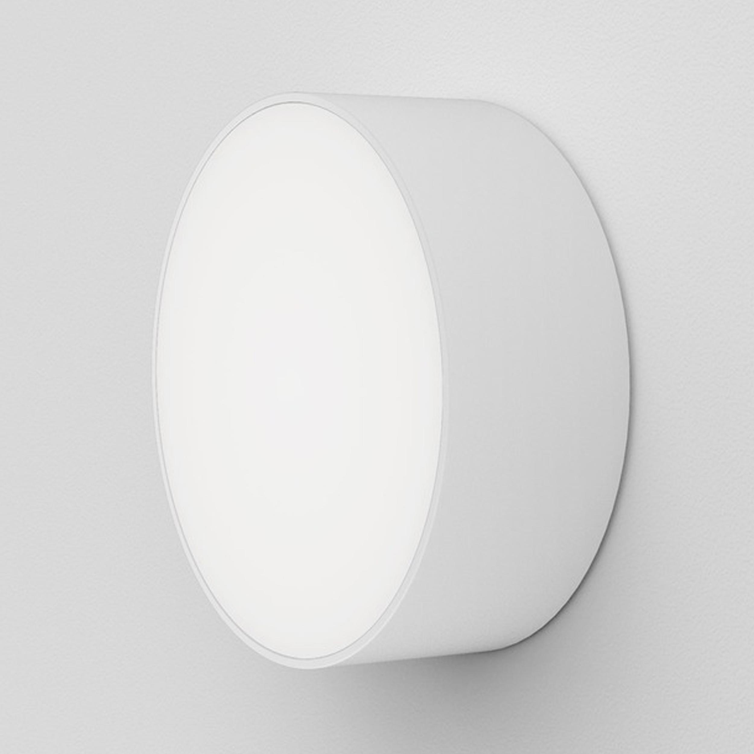 Astro Kea 250 Round Wall Light White C