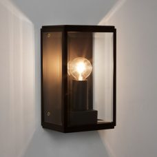 Astro Homefield 130 Wall Light Black
