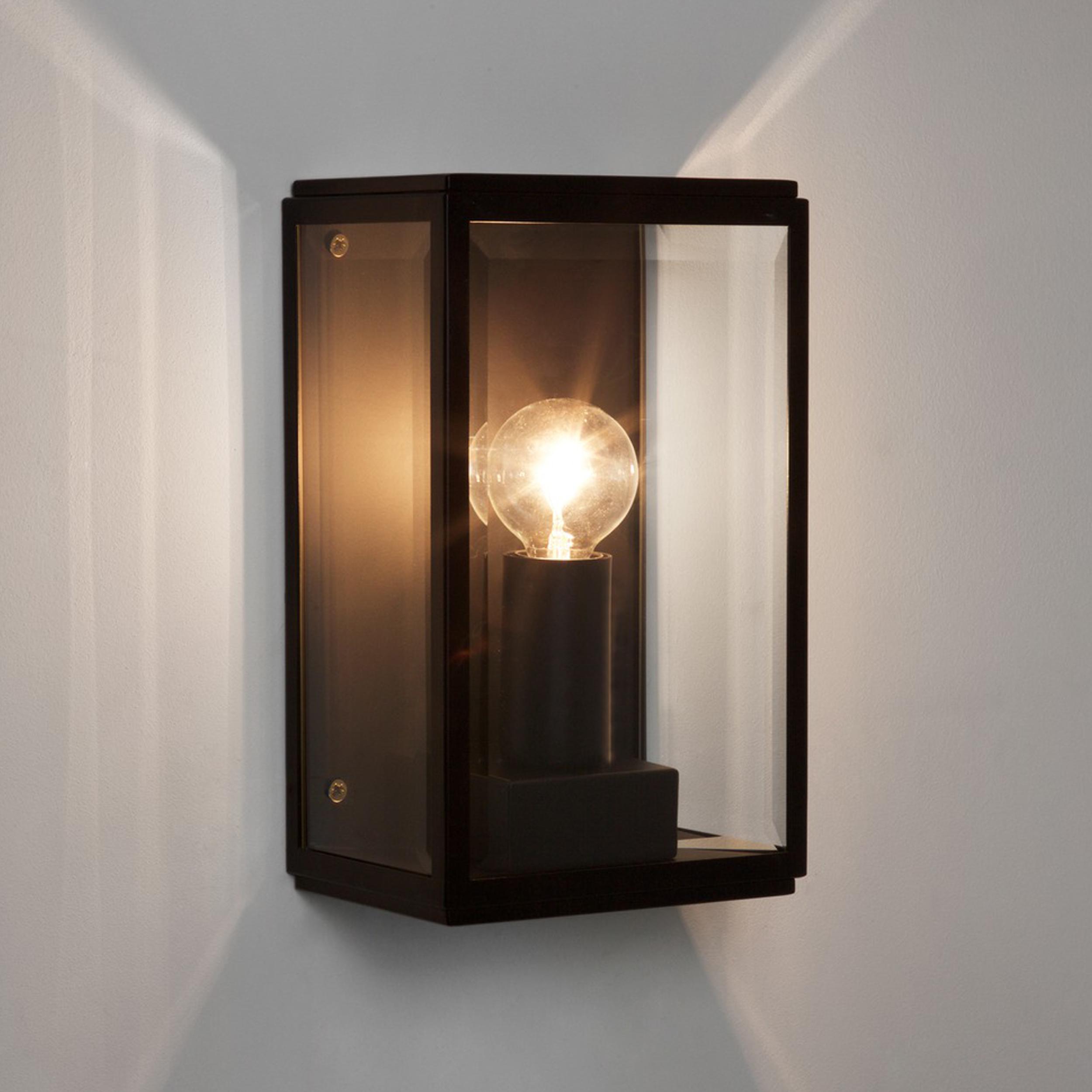 Astro Homefield 130 Wall Light Black