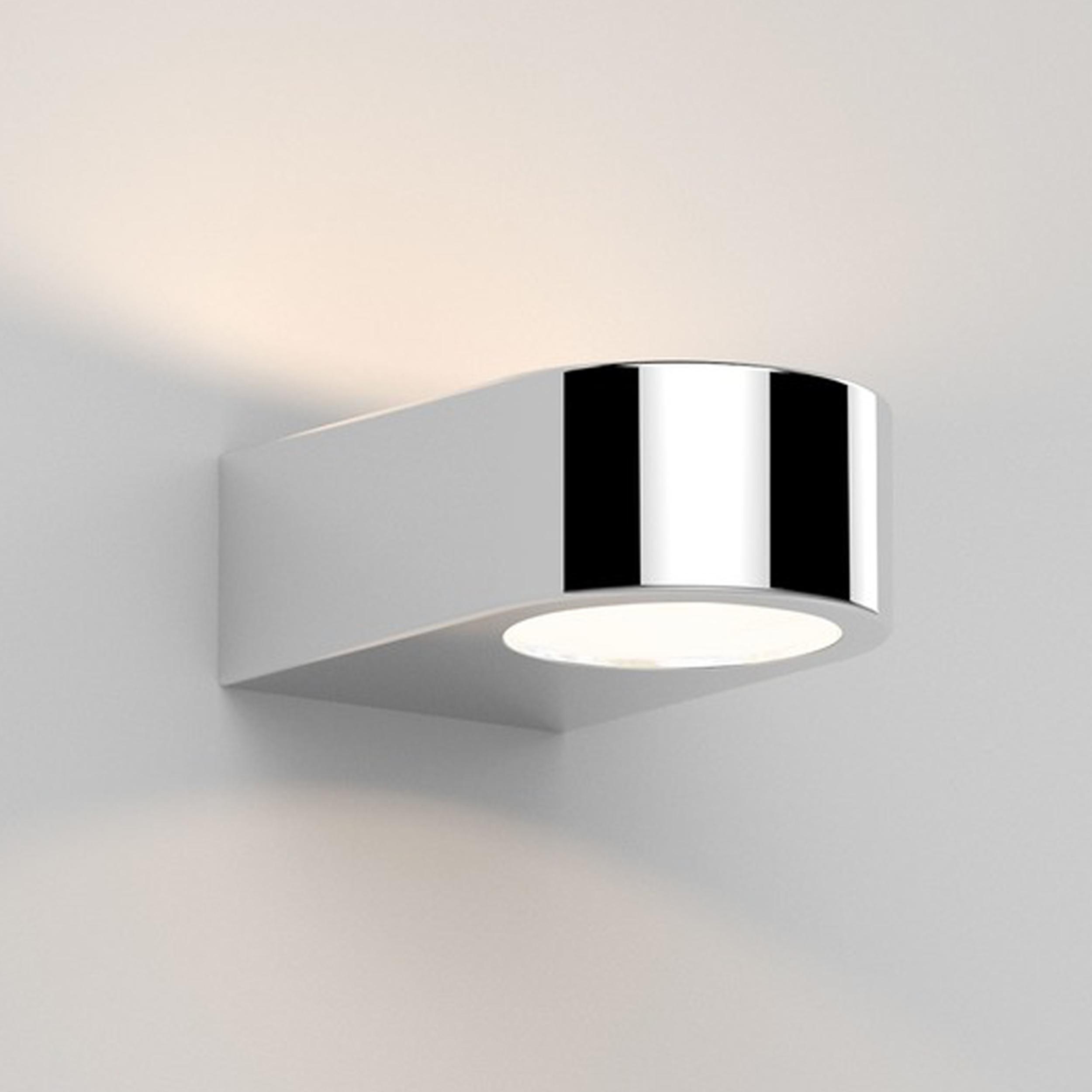 Astro Epsilon Led Wall Light Polished Chrome