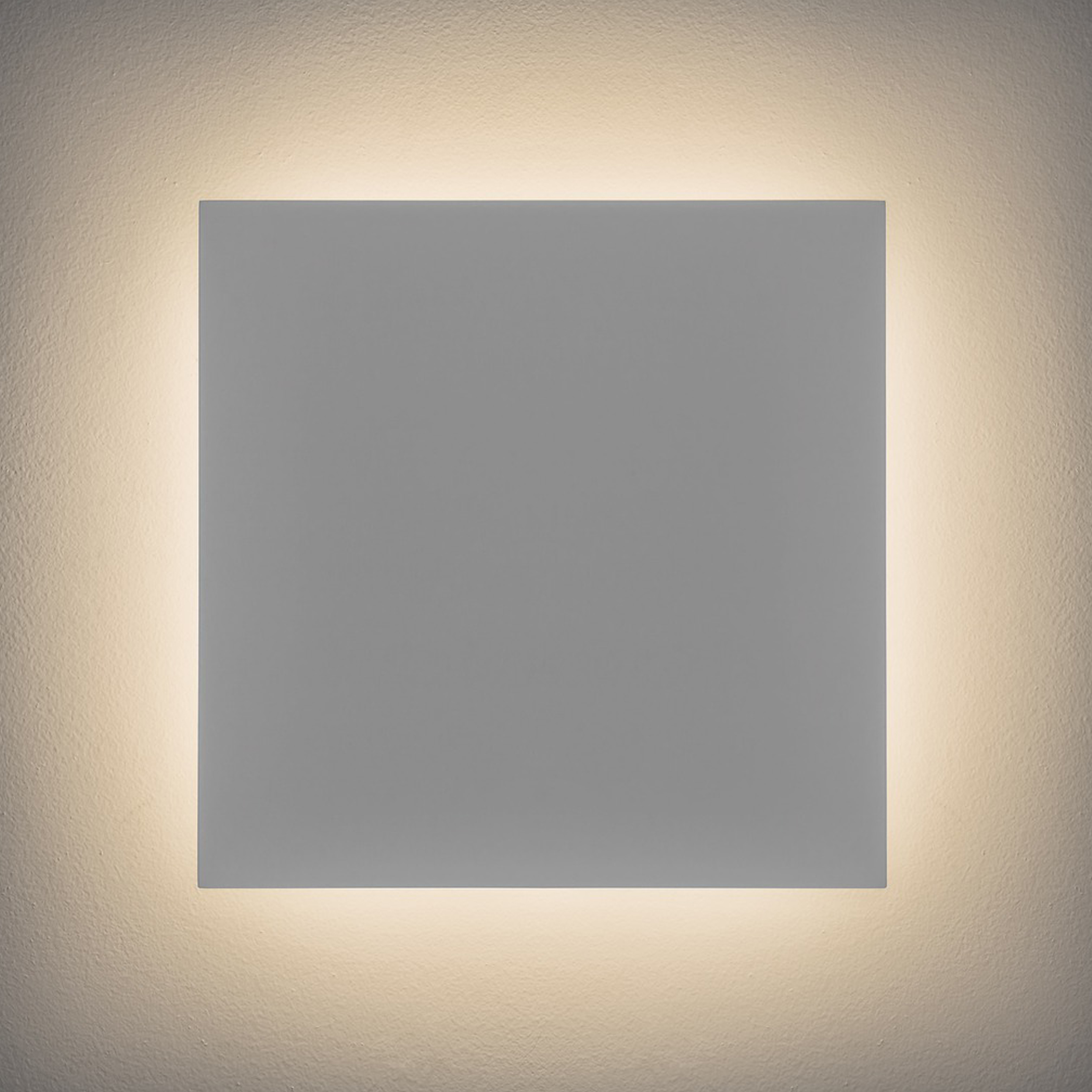 Astro Eclipse Square 300 Wall Light Plaster