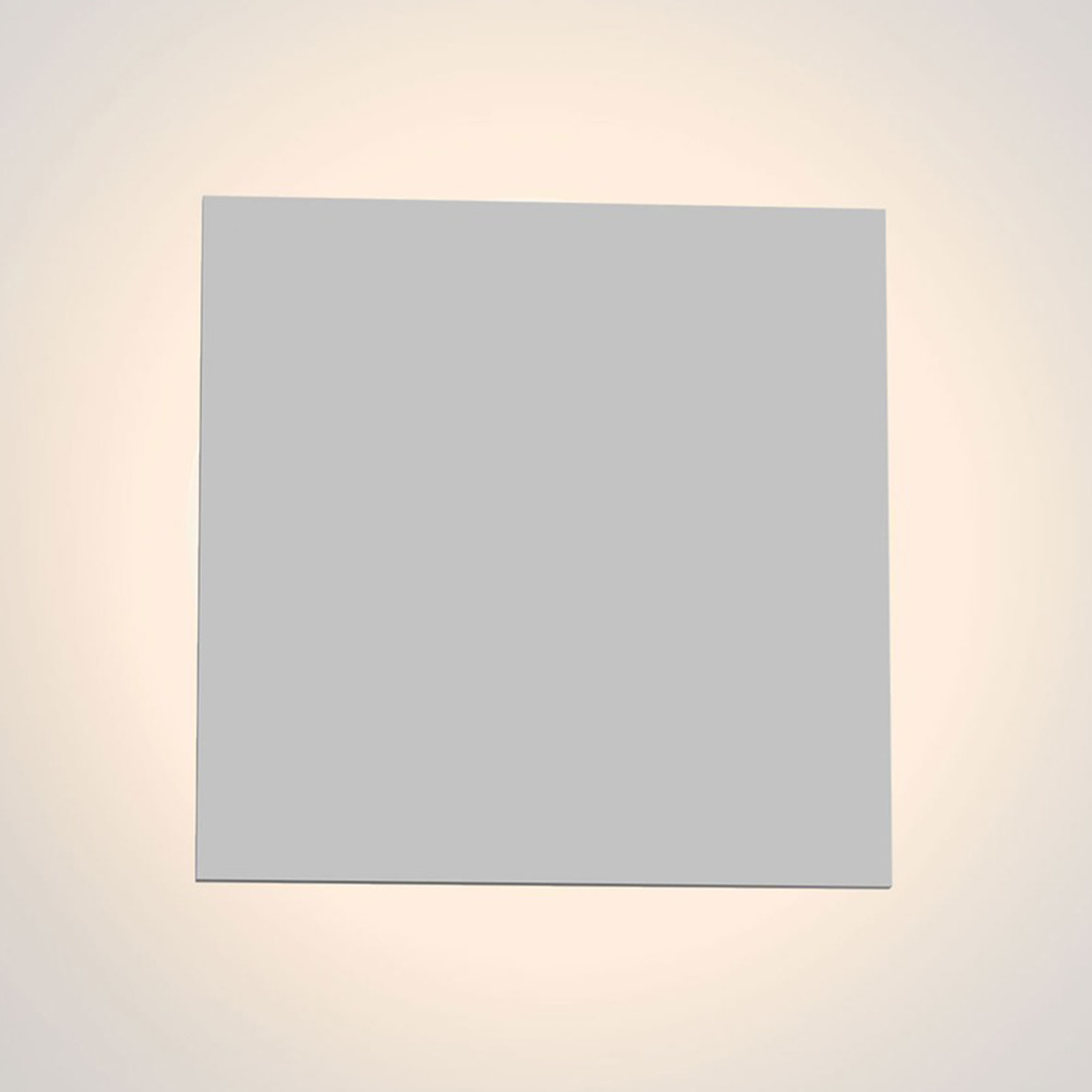 Astro Eclipse Square 300 Wall Light Plaster C