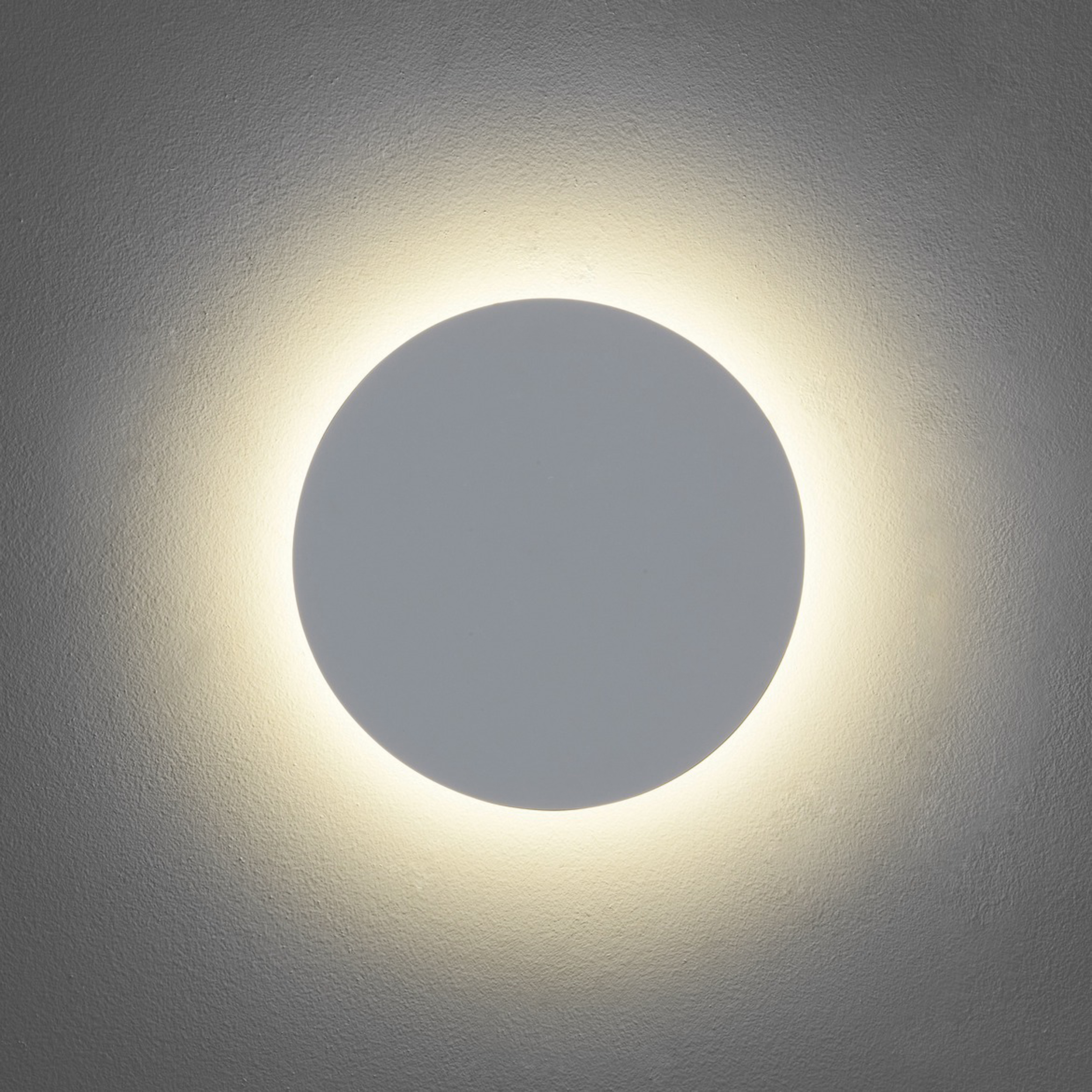 Astro Eclipse Round 250 Wall Light Plaster