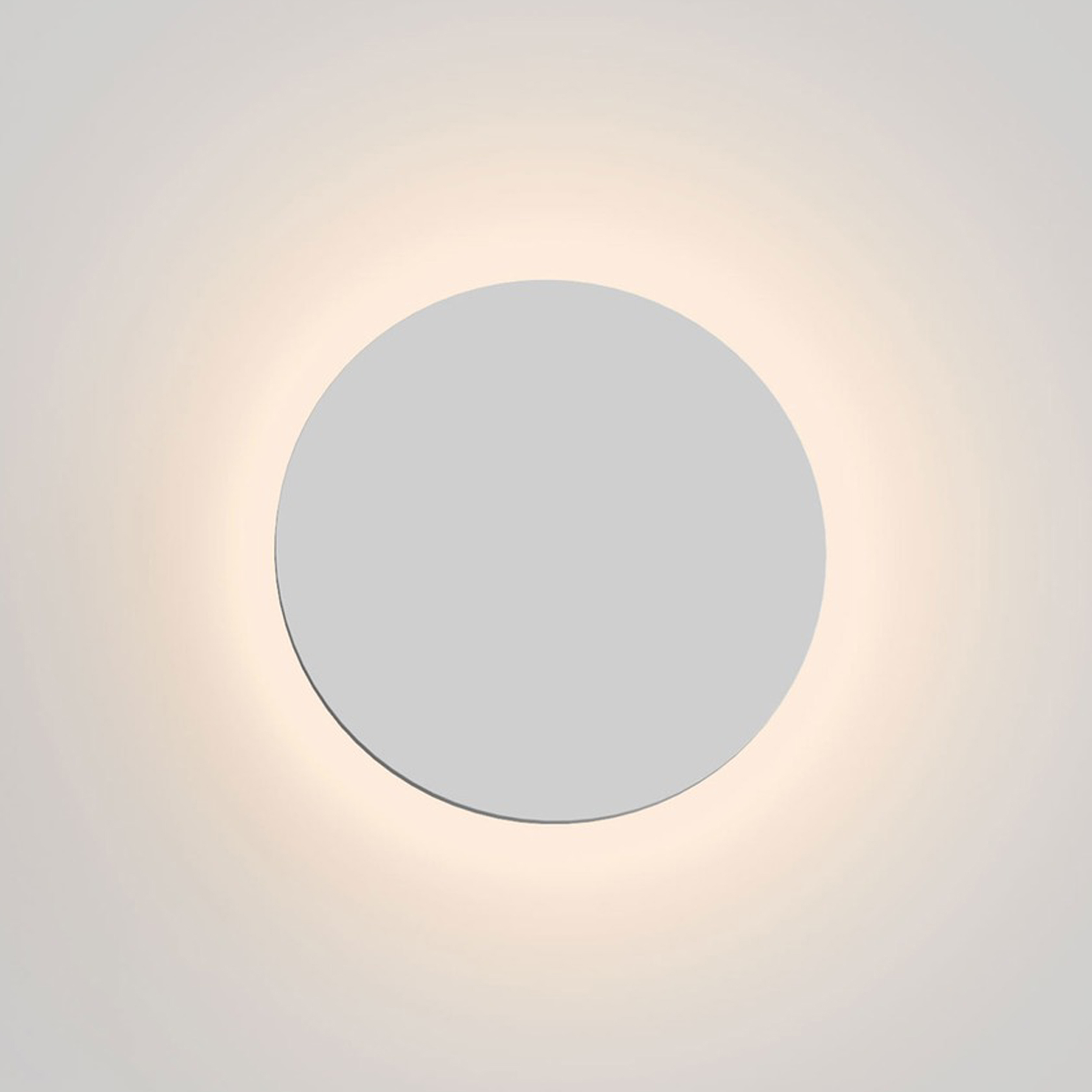 Astro Eclipse Round 250 Wall Light Plaster C