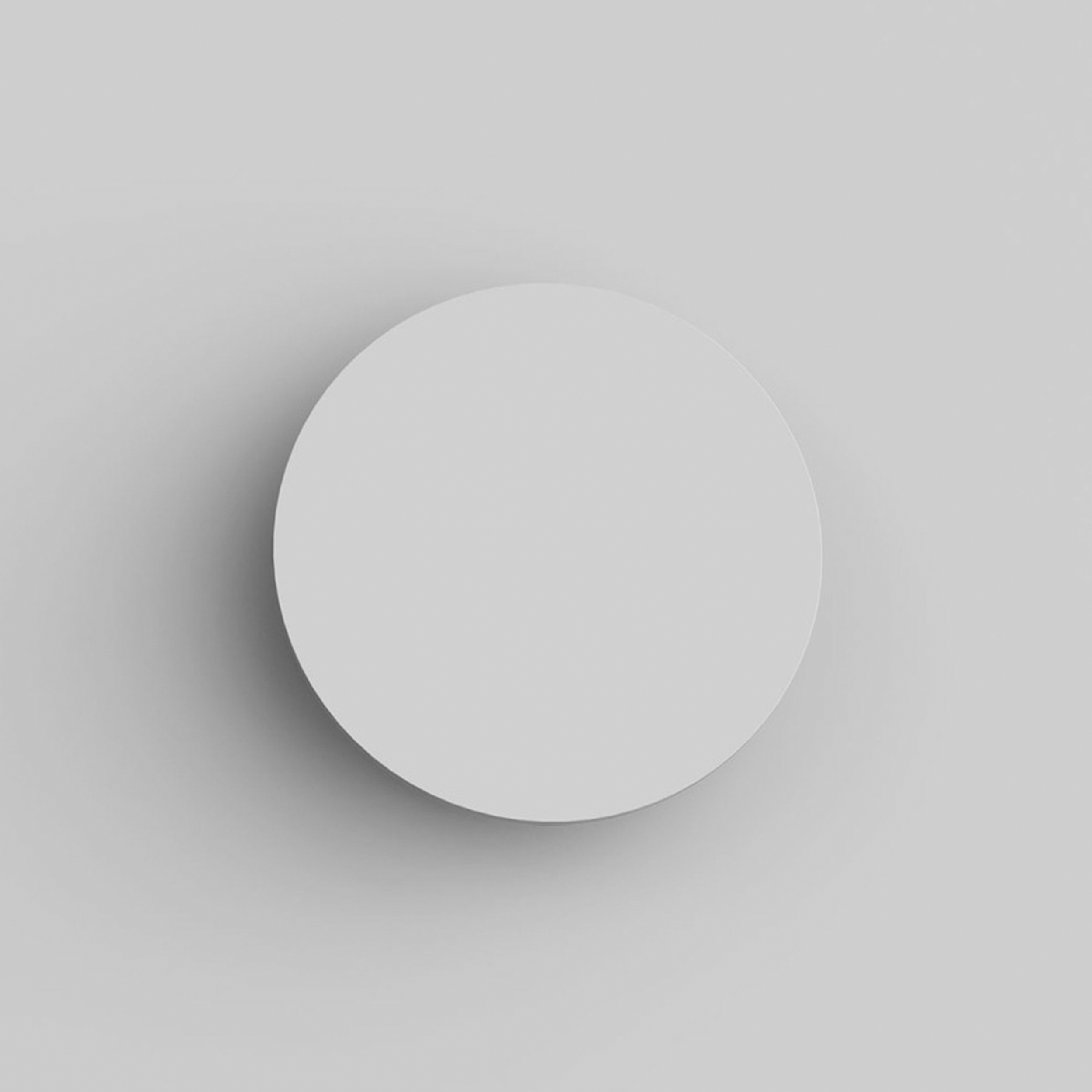Astro Eclipse Round 250 Wall Light Plaster B