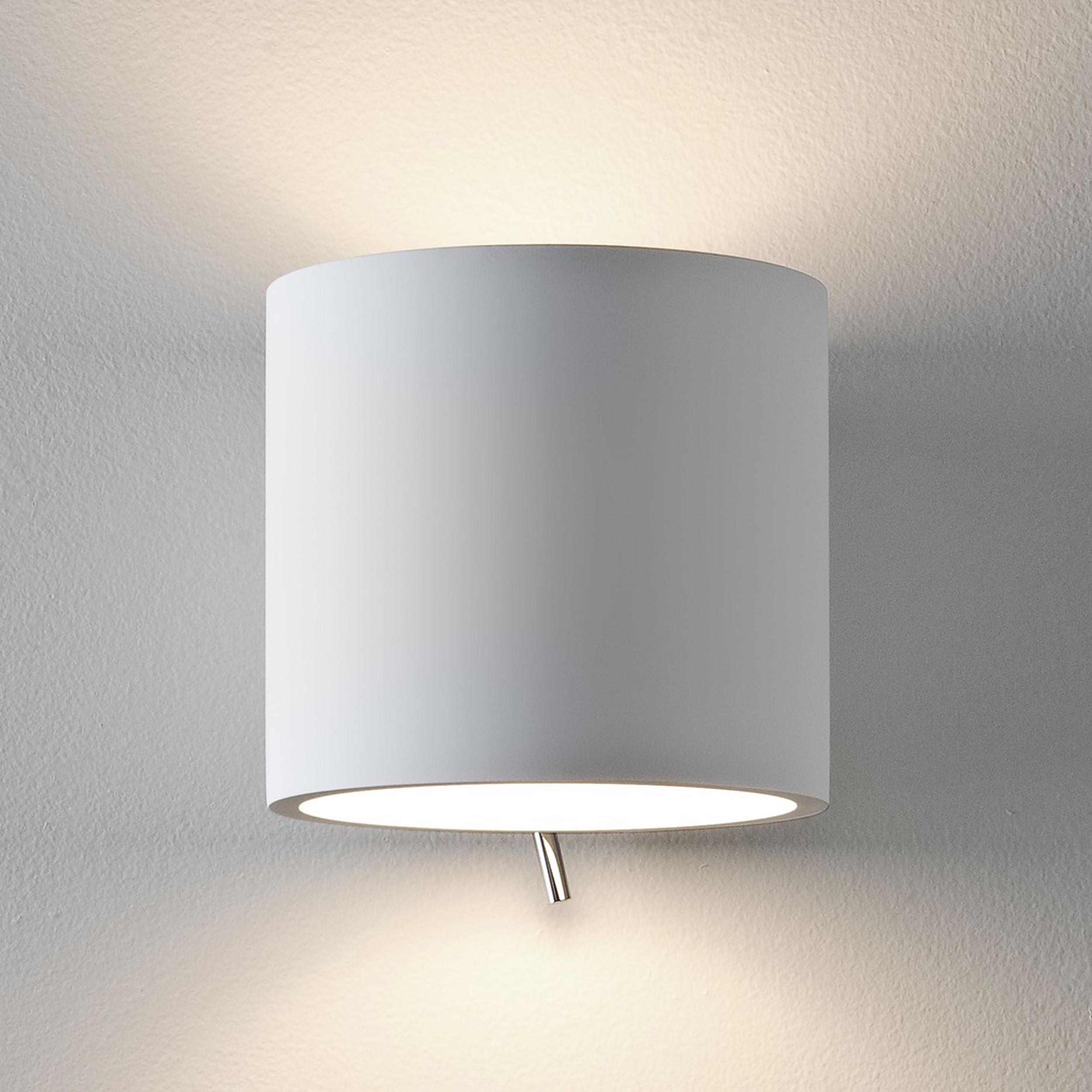 Astro Brenta 130 Wall Light White Plaster