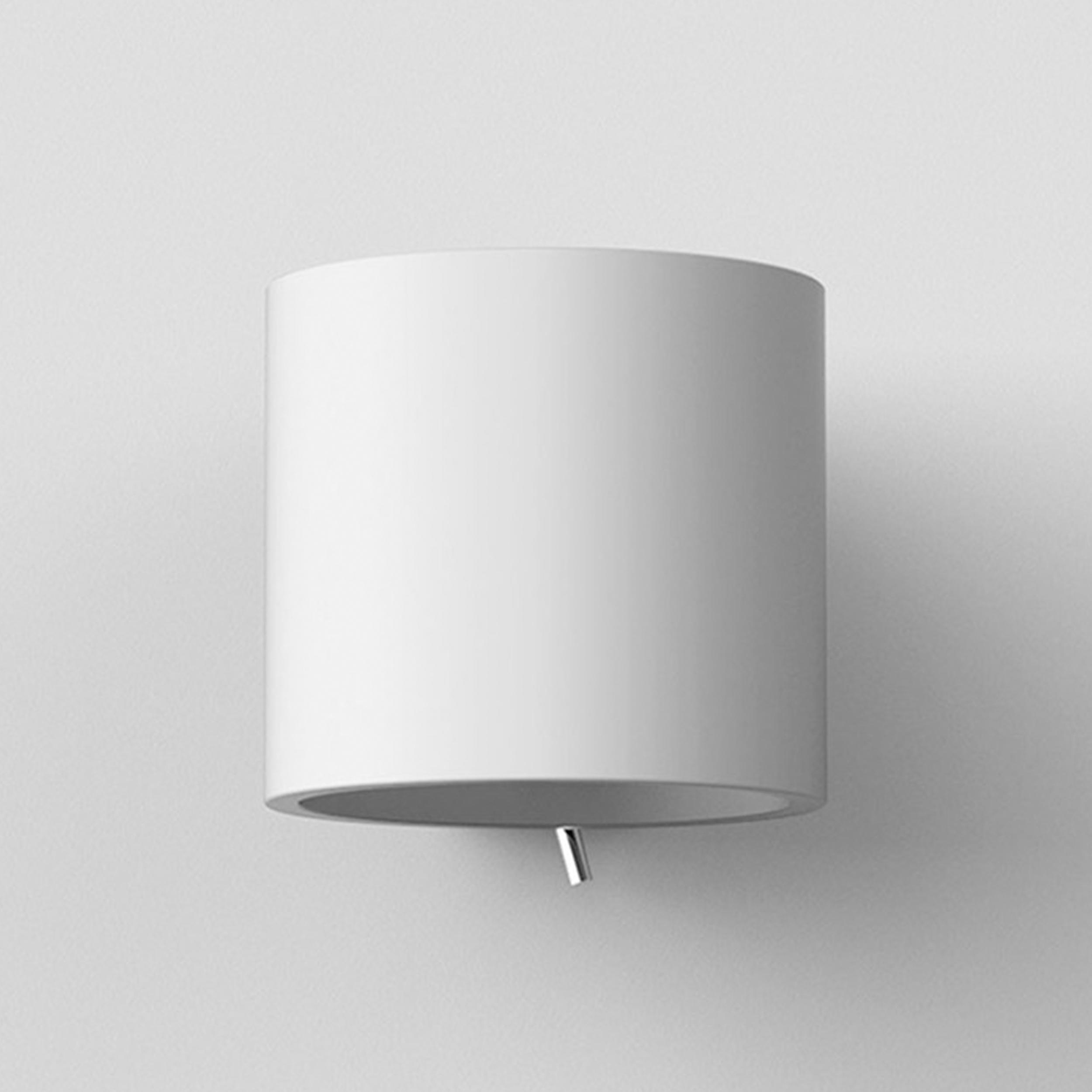 Astro Brenta 130 Wall Light White Plaster E