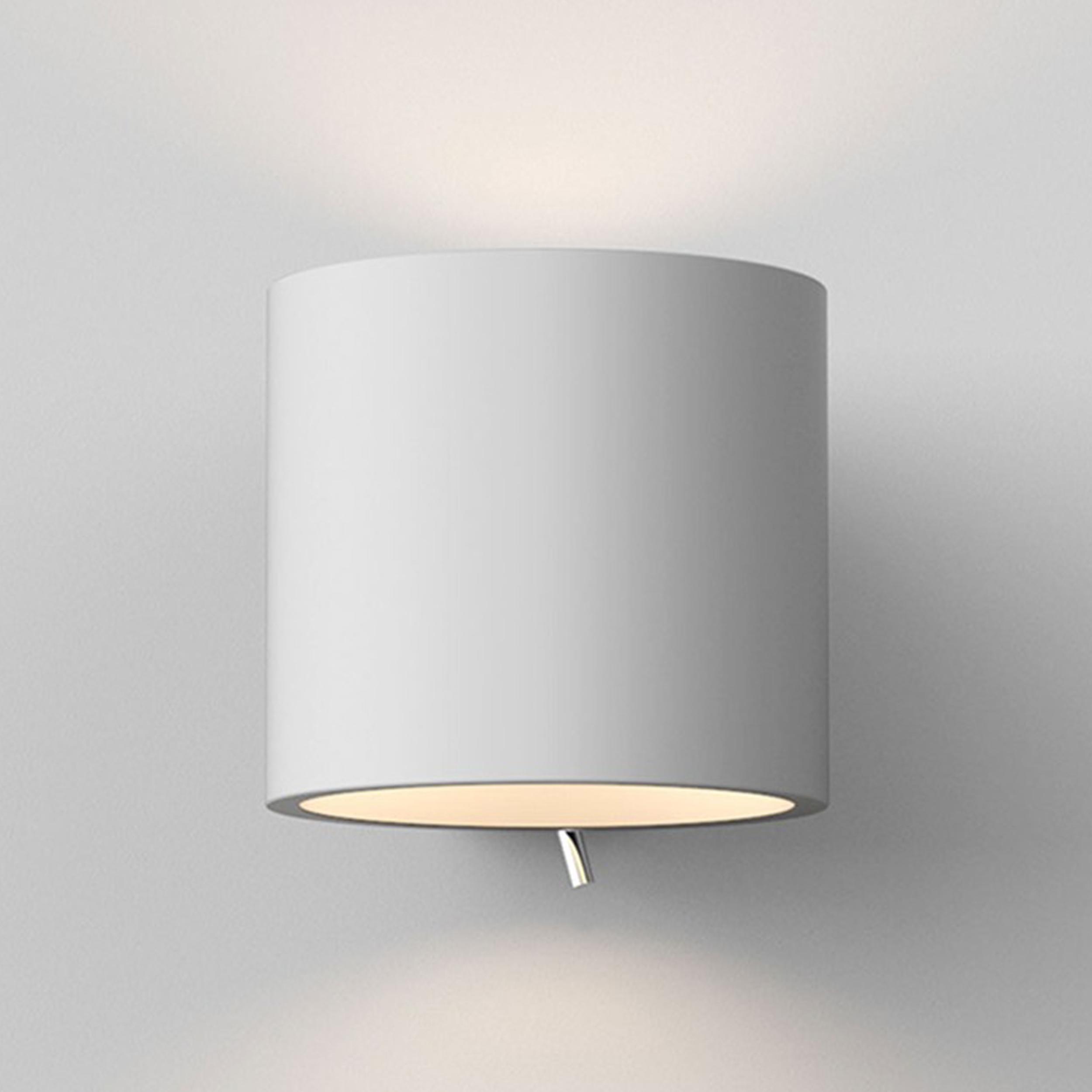 Astro Brenta 130 Wall Light White Plaster D