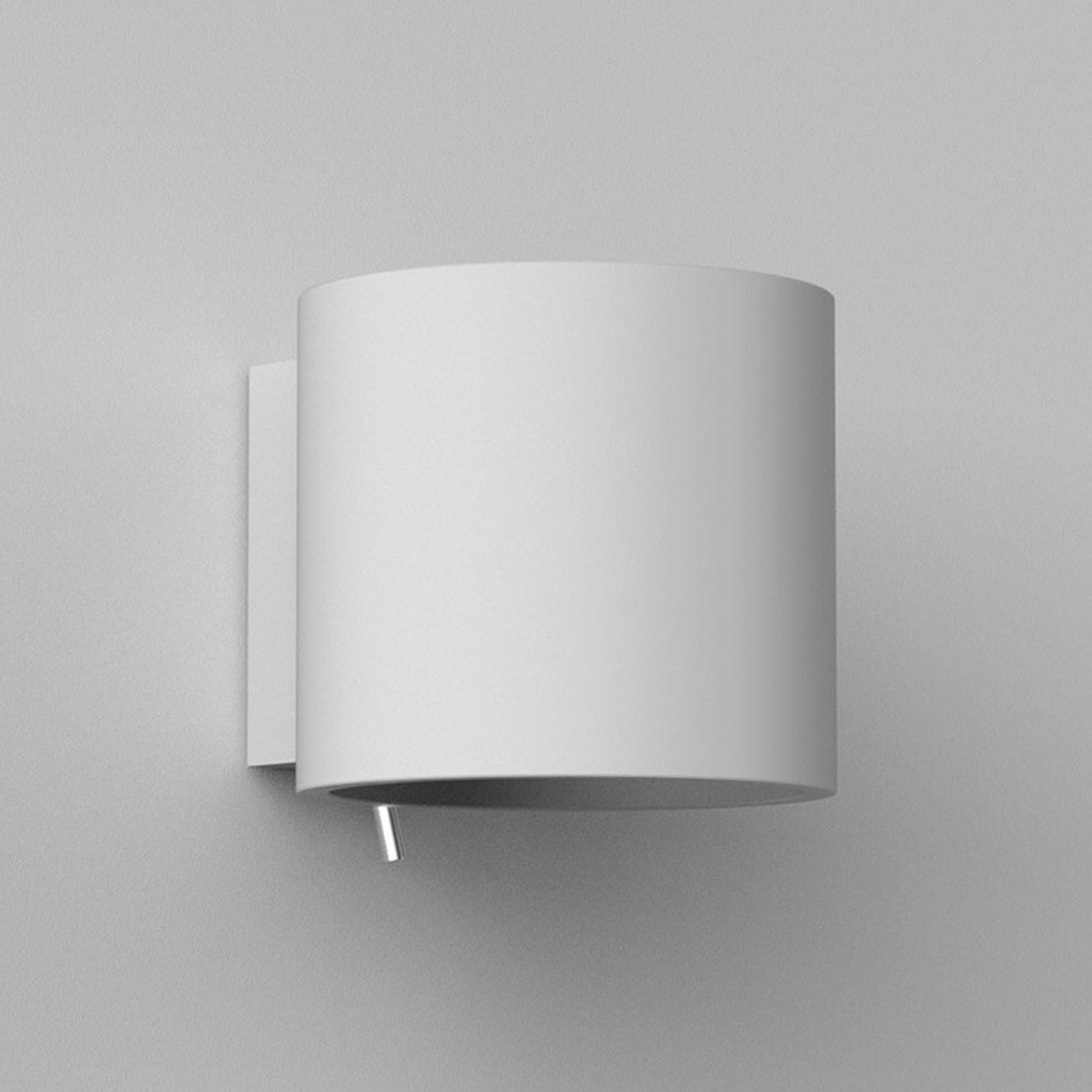 Astro Brenta 130 Wall Light White Plaster C