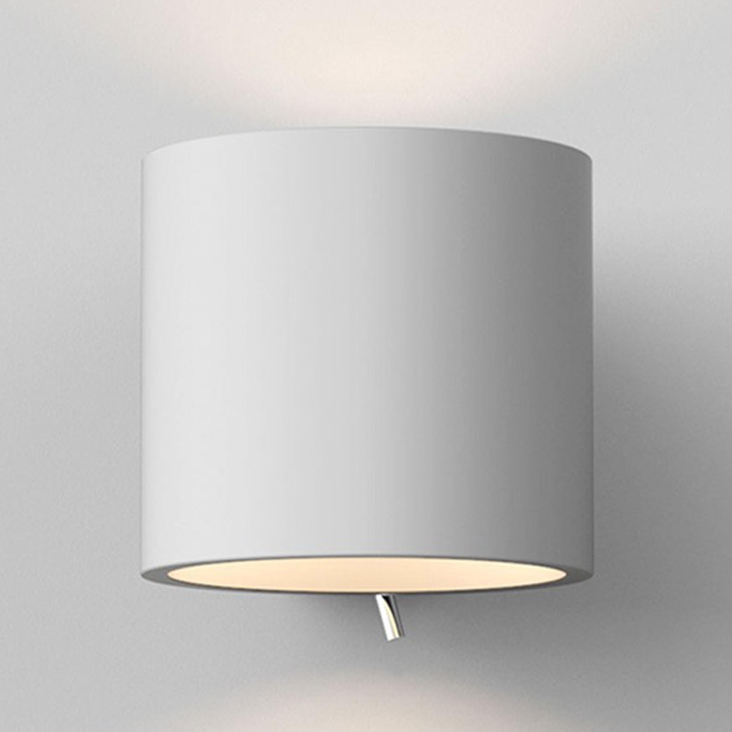 Astro Brenta 175 Wall Light White Plaster D