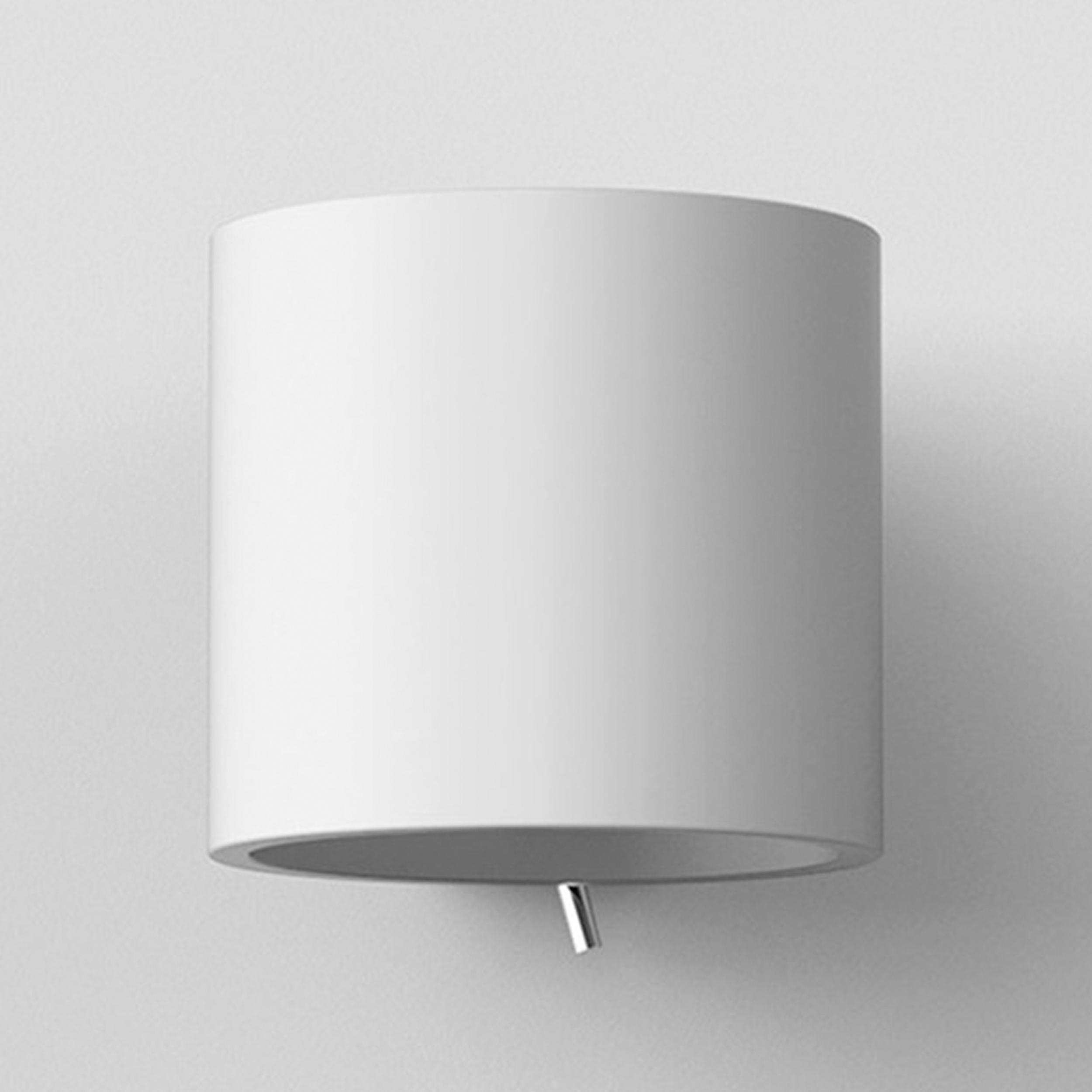 Astro Brenta 175 Wall Light White Plaster E