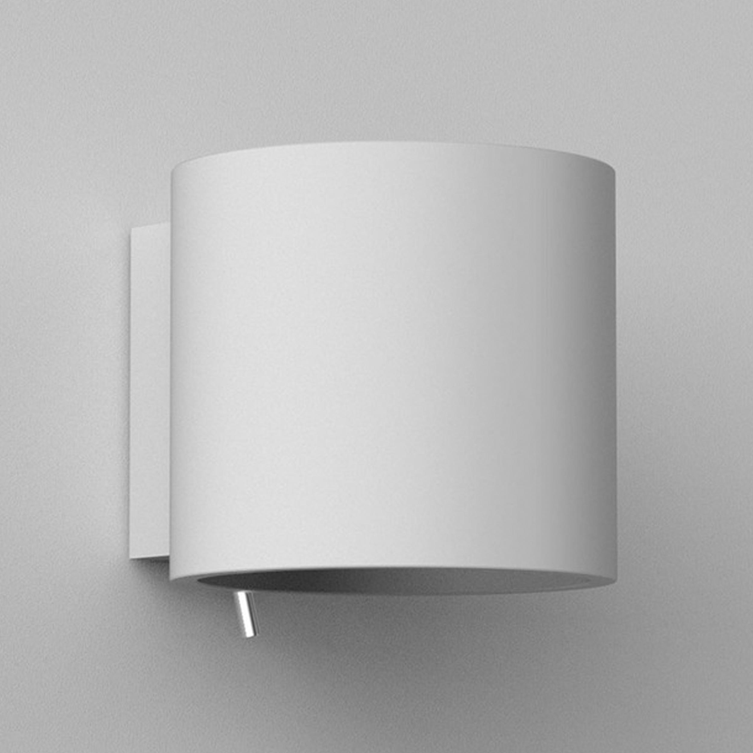 Astro Brenta 175 Wall Light White Plaster C
