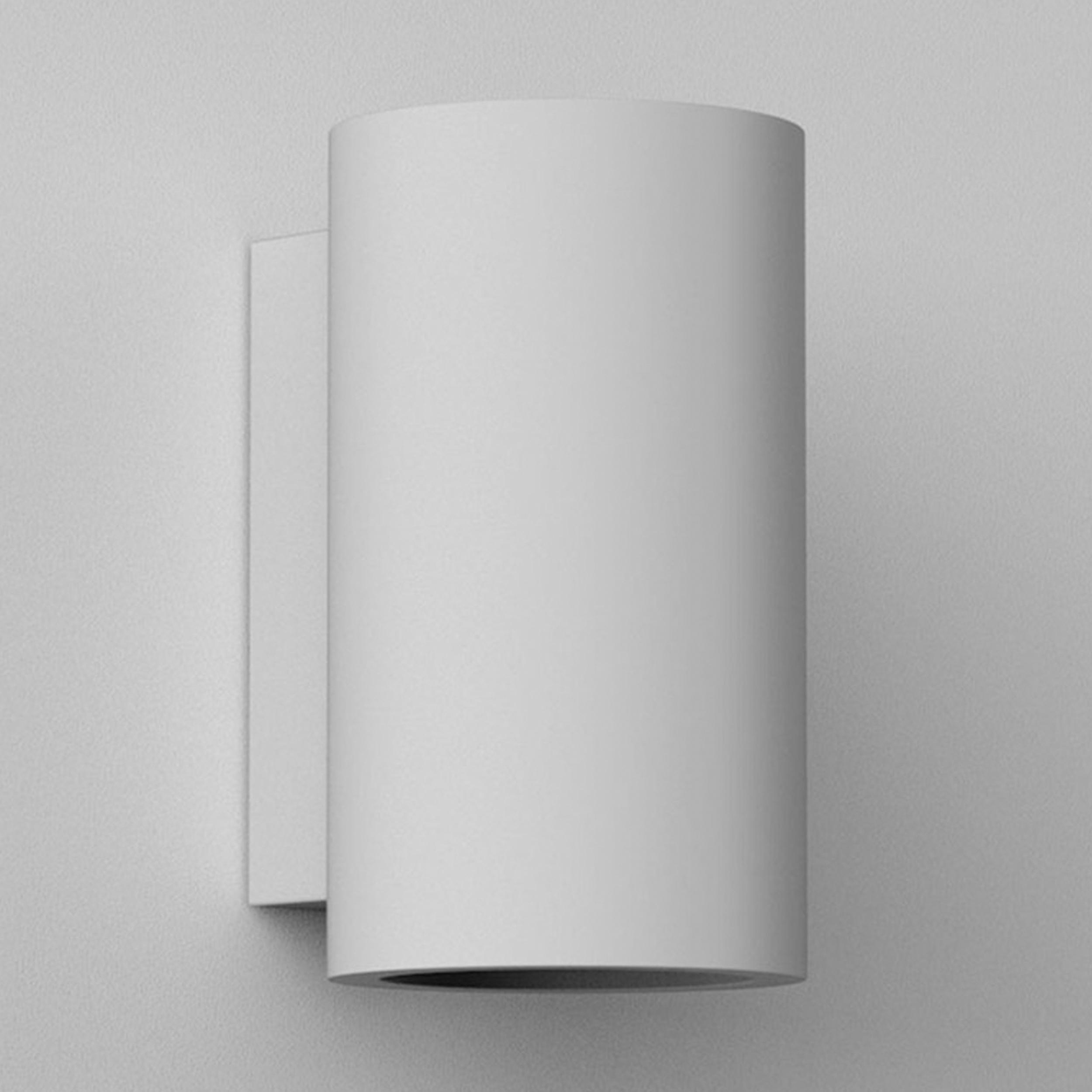 Astro Bologna 240 Led Wall Light White Plaster C