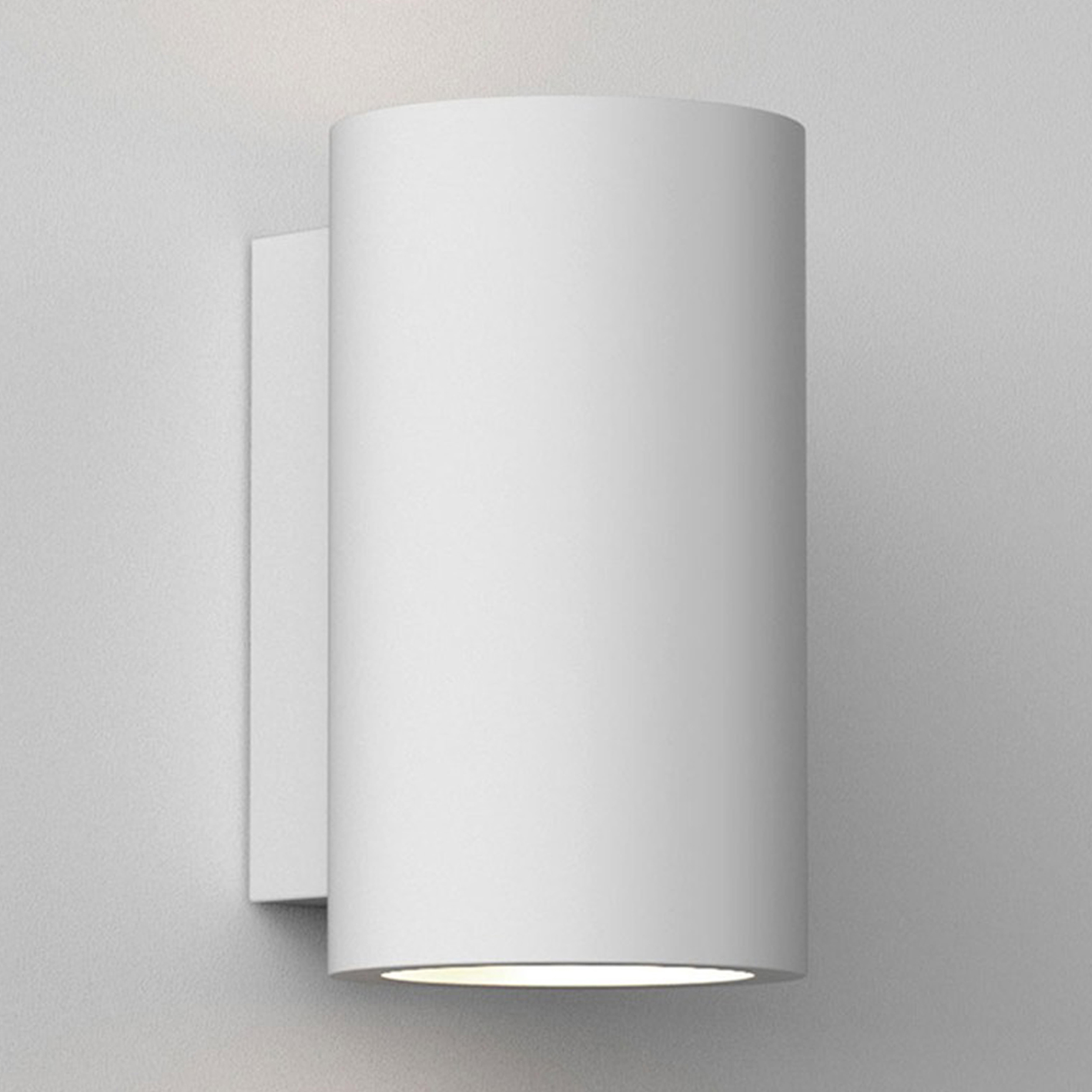 Astro Bologna 240 Led Wall Light White Plaster B
