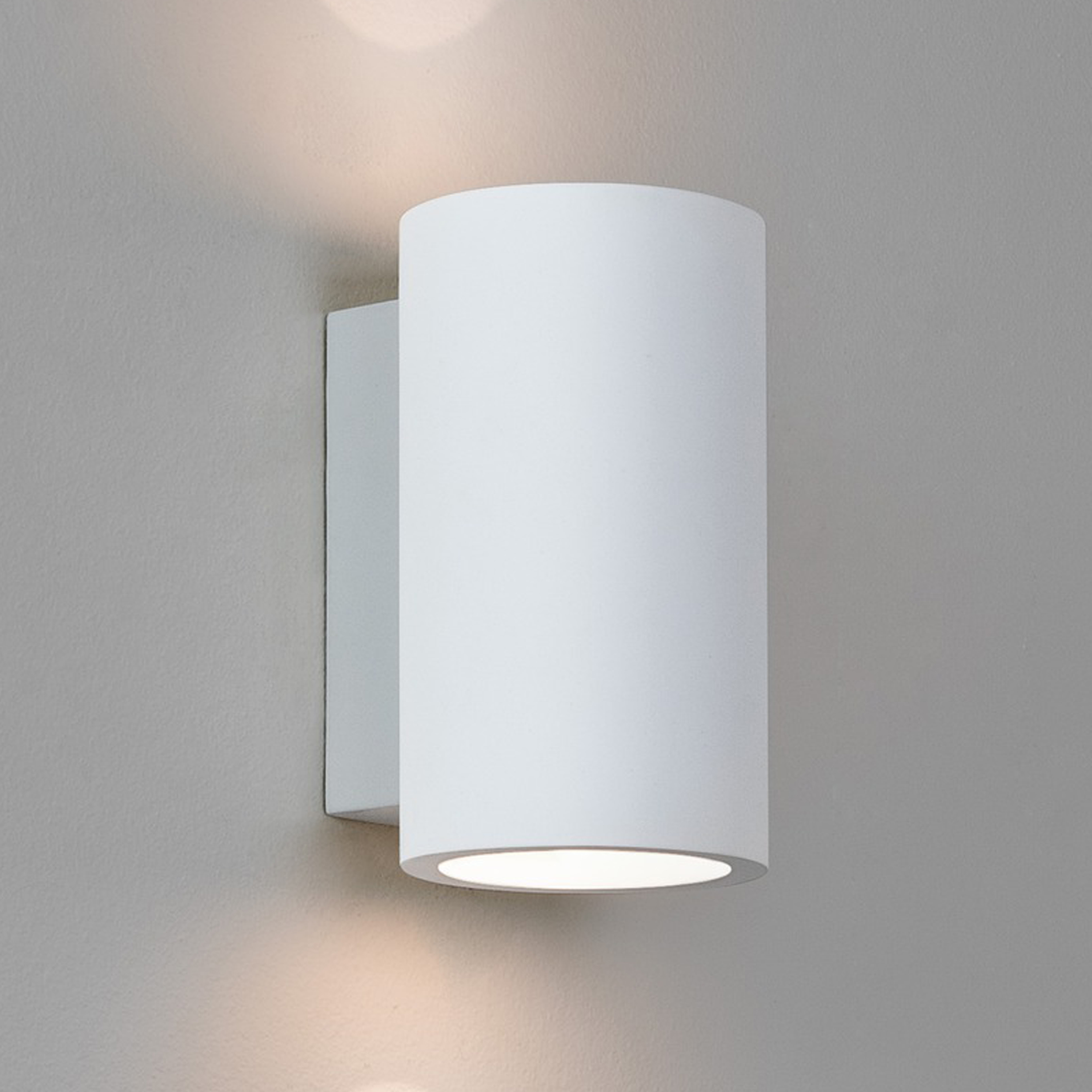 Astro Bologna 160 Led Wall Light White Plaster