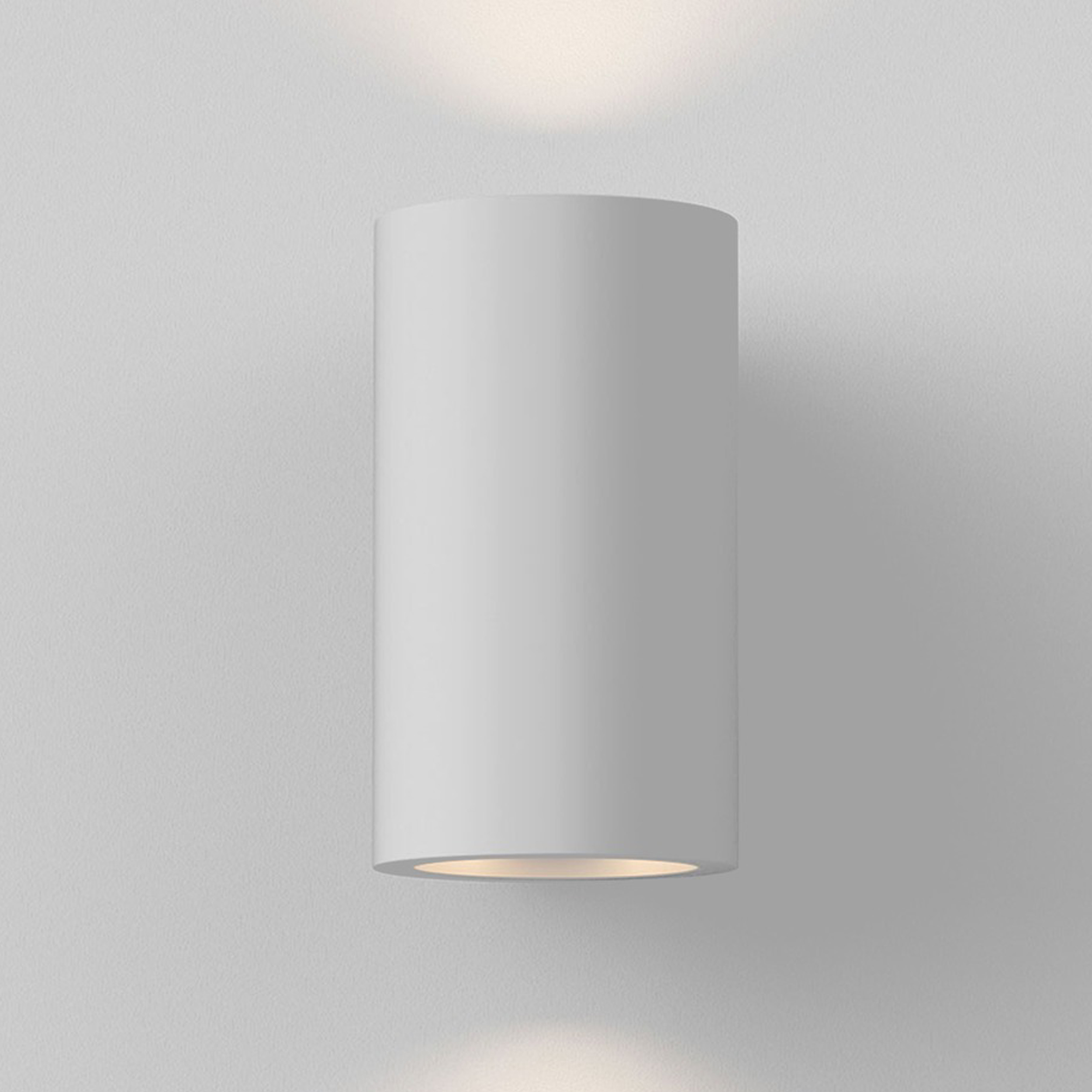 Astro Bologna 160 Led Wall Light White Plaster D