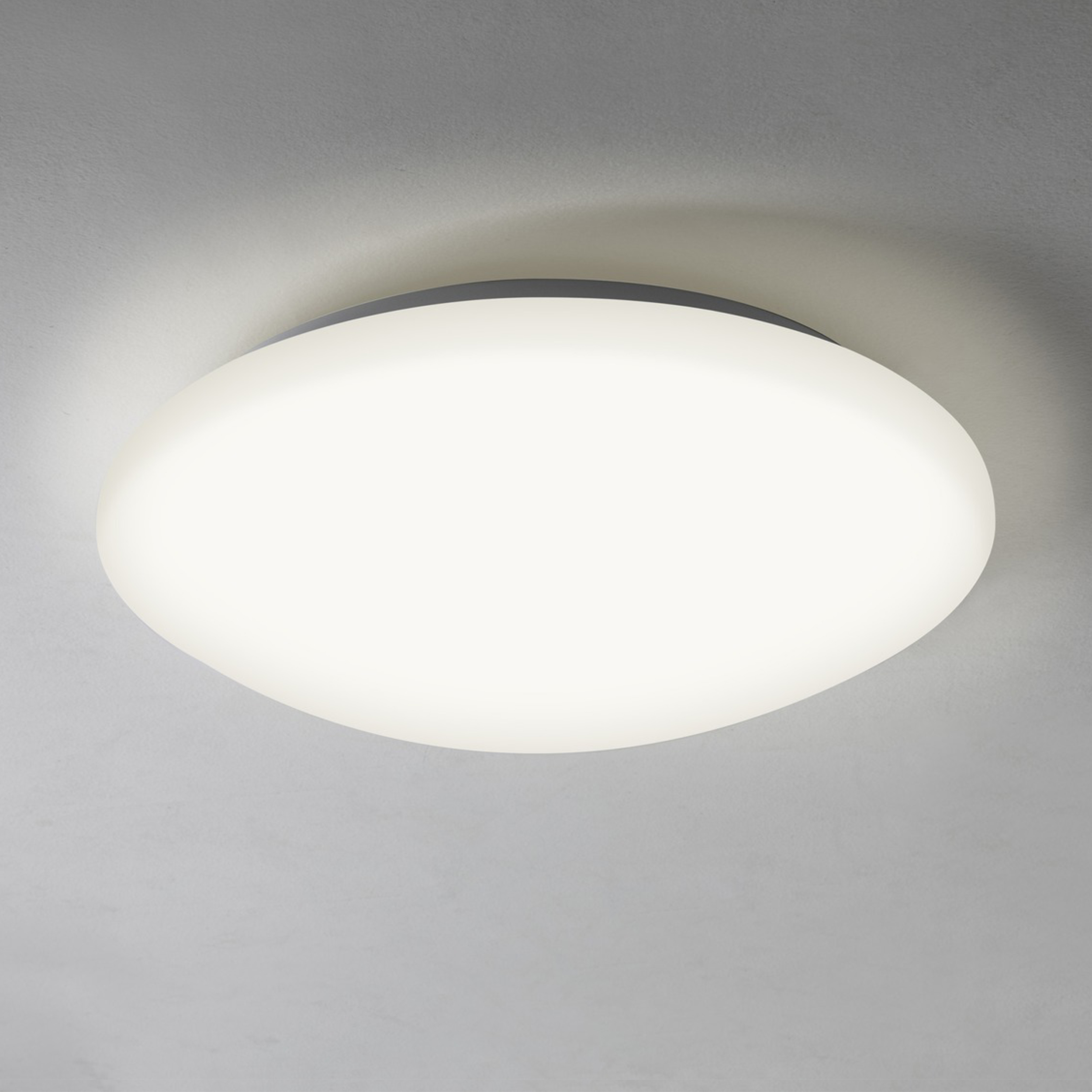 Astro Massa 300 Led Ceiling Light Matt White