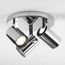 Astro Aqua Triple Round Spotlight Chrome B
