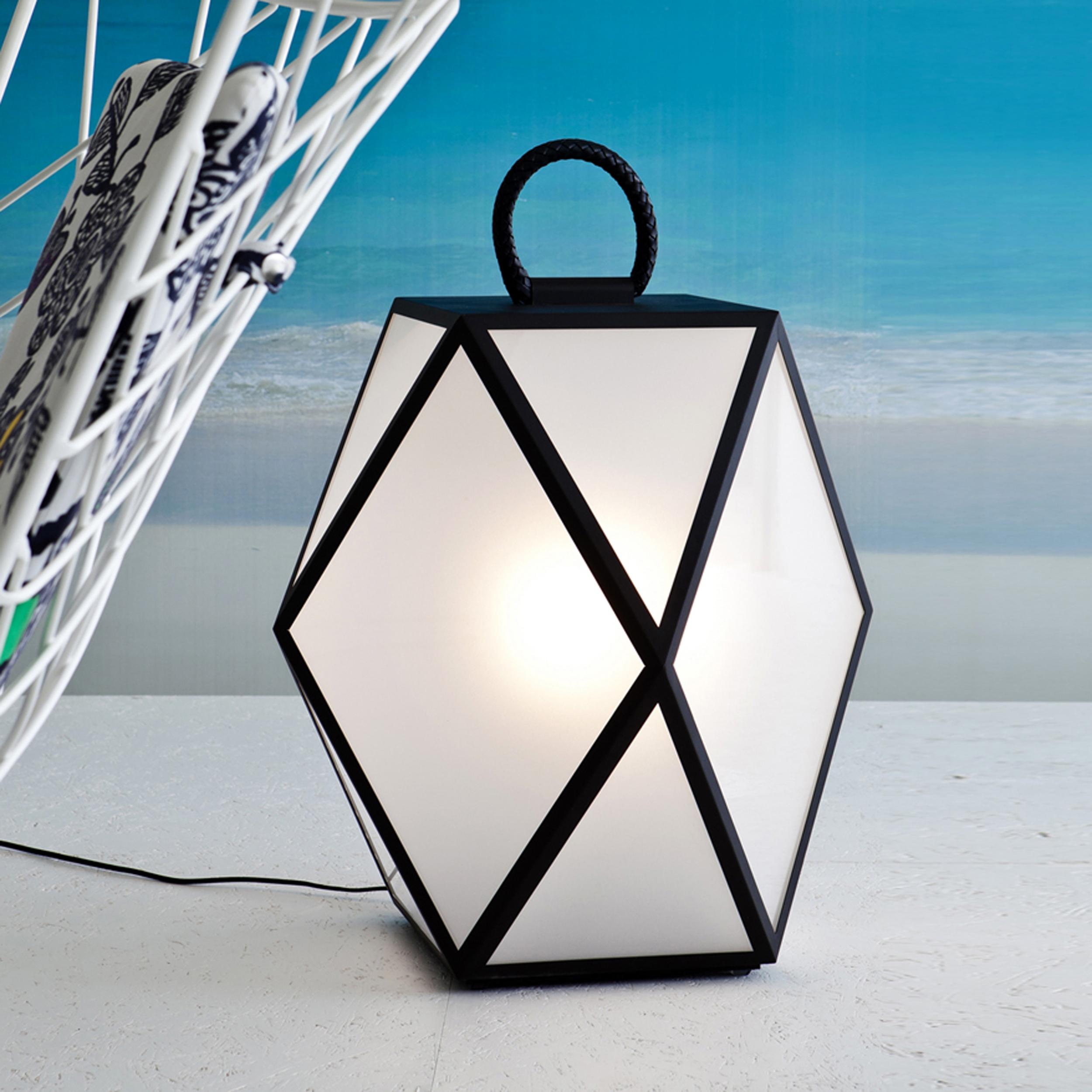 Contardi Muse Large Outdoor Floor Lamp Black C