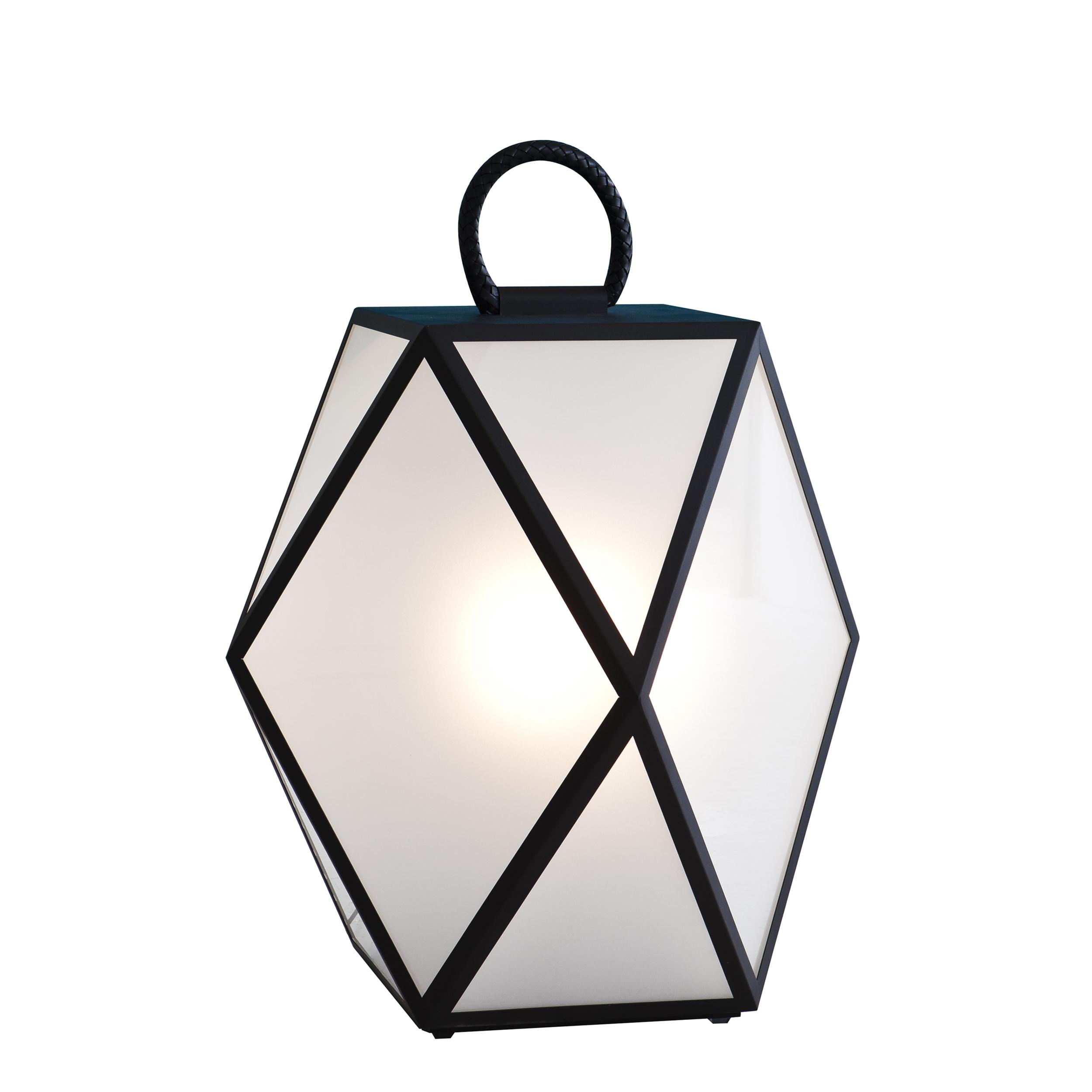 Contardi Muse Small Outdoor Floor Lamp Black