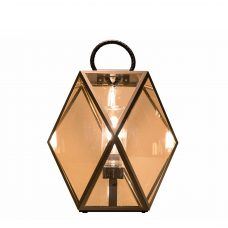 Contardi Muse Lantern Outdoor Table Lamp Bronze