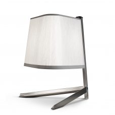 Contardi Couture Table Lamp Satin Nickel