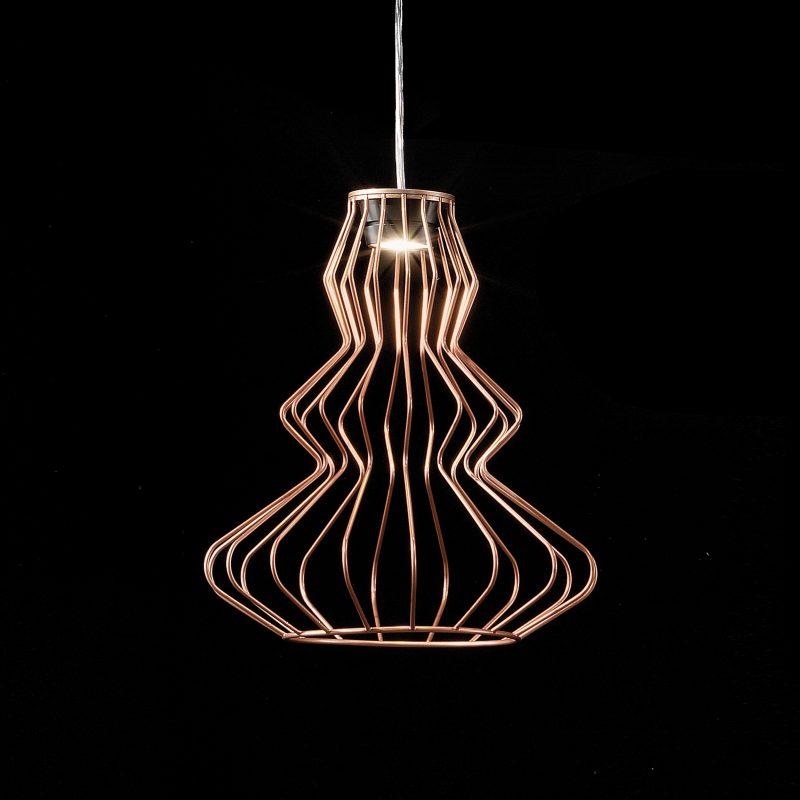 Evi Style Bia Argo Small Pendant Light Copper