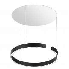 Occhio Mito Sospeso Trimless Pendant Light Matt Black