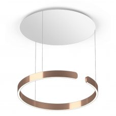 Occhio Mito Sospeso Up Pendant Light Rose Gold