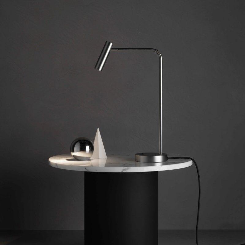 Astro Enna Table Lamp Matt Nickel B