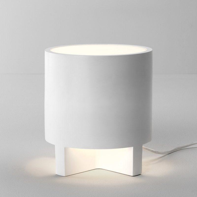 Astro Martello 180 Table Lamp White Plaster
