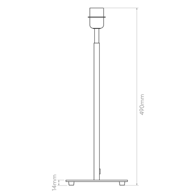 Astro Azumi Table Lamp Line Drawing