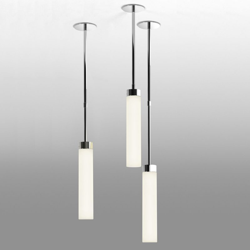Astro Kyoto Pendant Light Polished Chrome E