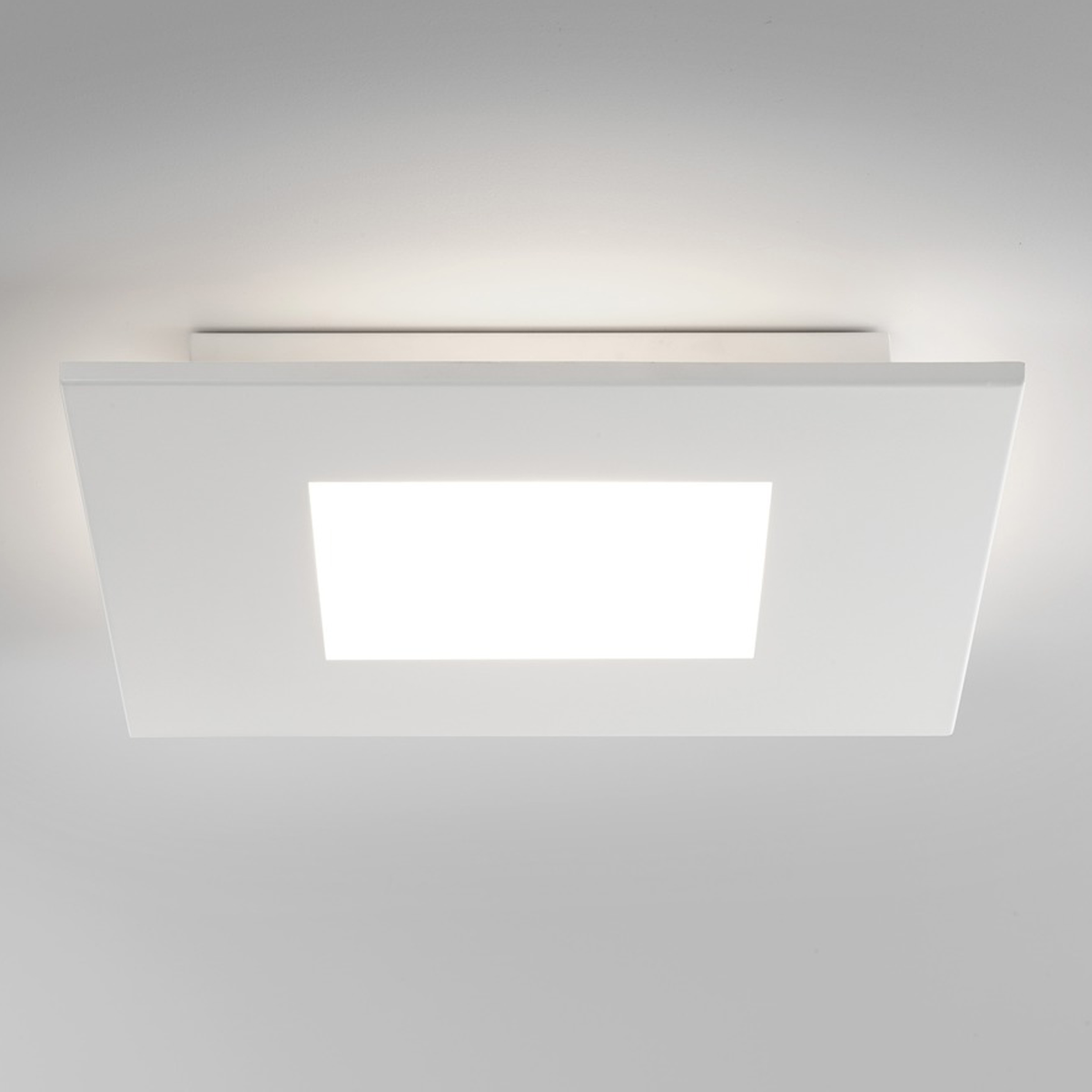 Zero square led ceiling light