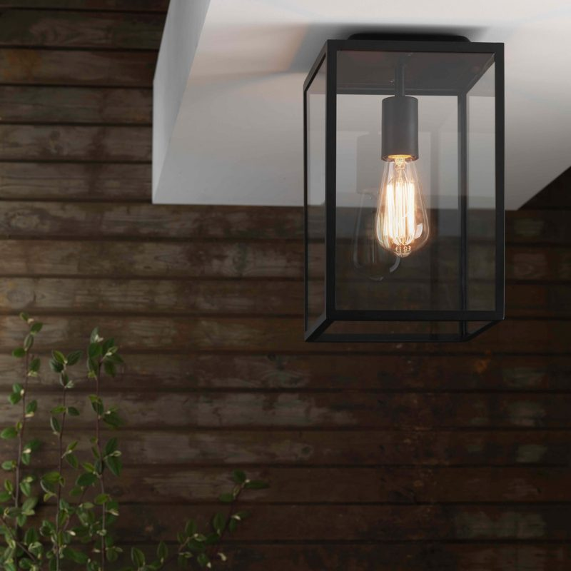Astro Homefield Ceiling Light Black C