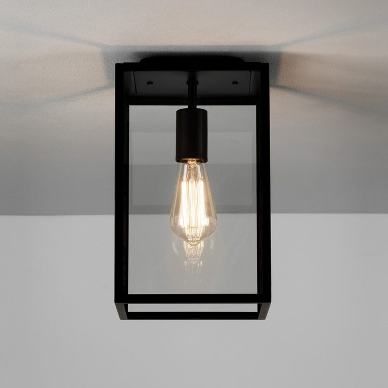 Astro Homefield Ceiling Light Black B