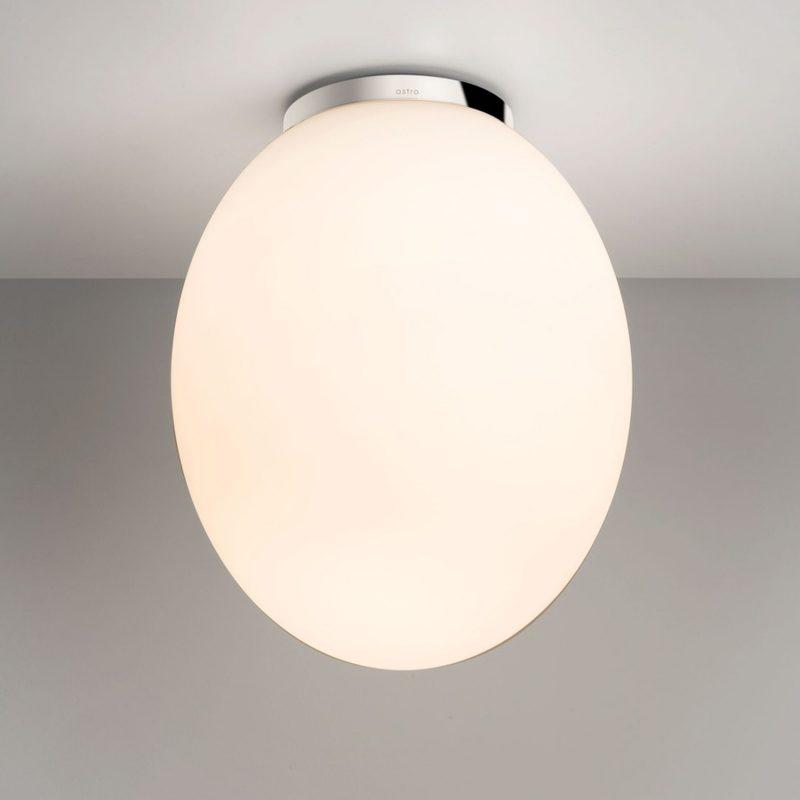 Astro Cortona 240 Ceiling Light White Glass