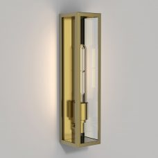 Astro Harvard Coastal Wall Light Natural Brass