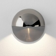 Astro Tivoli Coastal Led Wall Light Polished Nickel