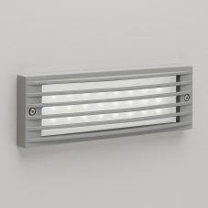 Astro Rib Led Wall Light Silver