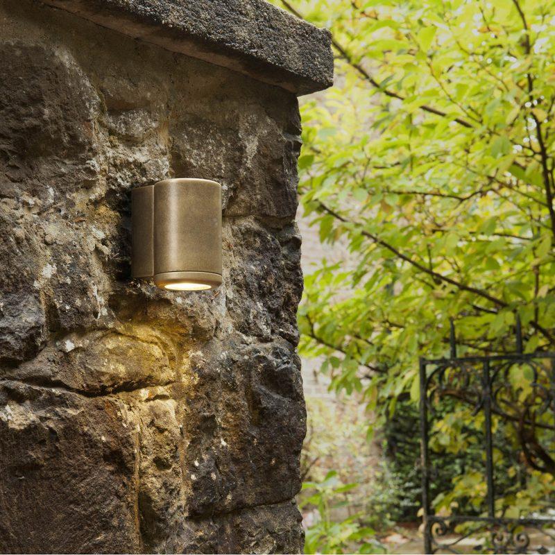 Astro Jura Single Wall Light Antique Brass B