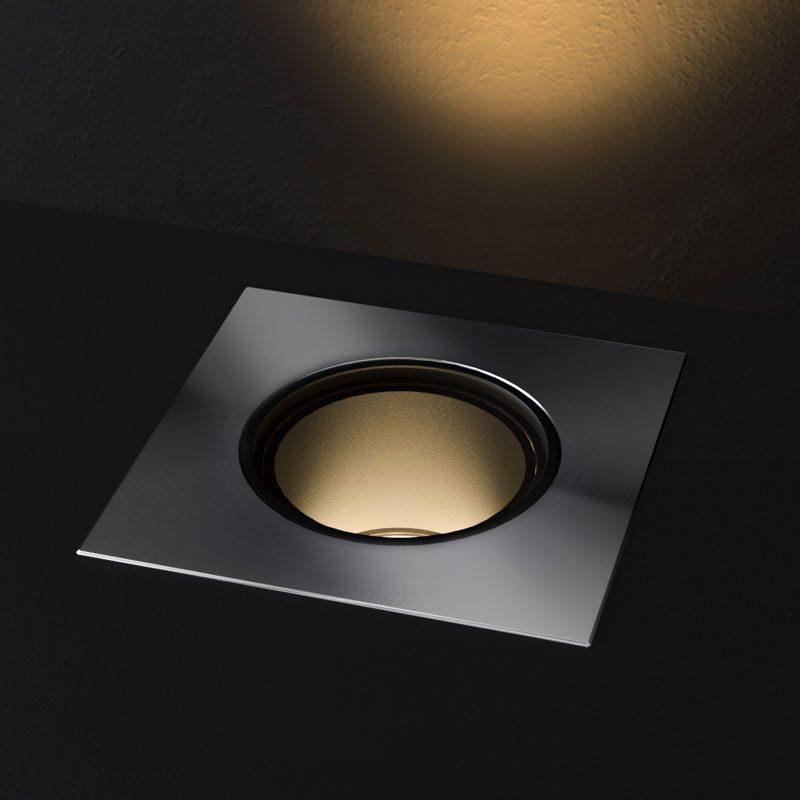 Orluna Cue Uplight Stainless Steel B
