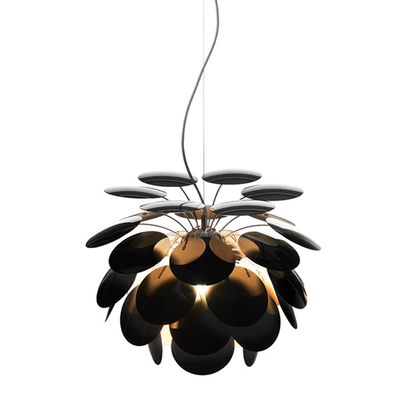 Marset Discocó 53 Pendant Light Black Gold