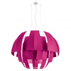 Axolight Plumage 180 Pendant Light Fuchsia