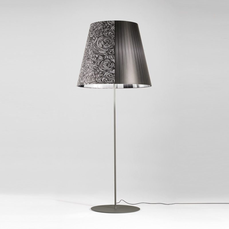 Axolight Melting Pot 80 Floor Lamp Black Chrome B