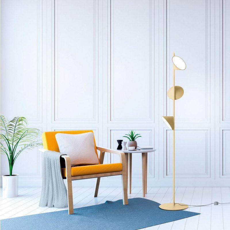 Axolight Orchid Floor Lamp Sand B