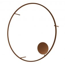 Axolight U Light 160 Wall Light Rust Brown